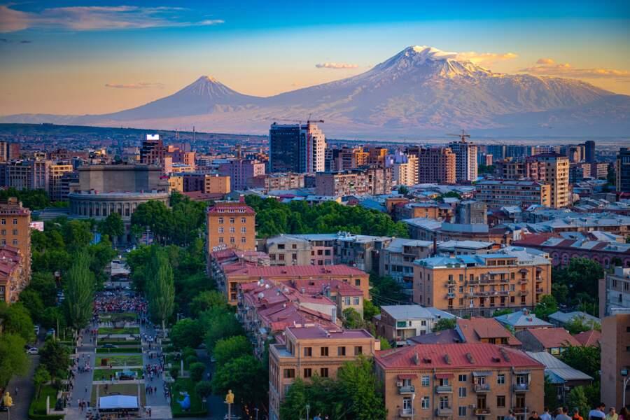 10. Yerevan, Arménie