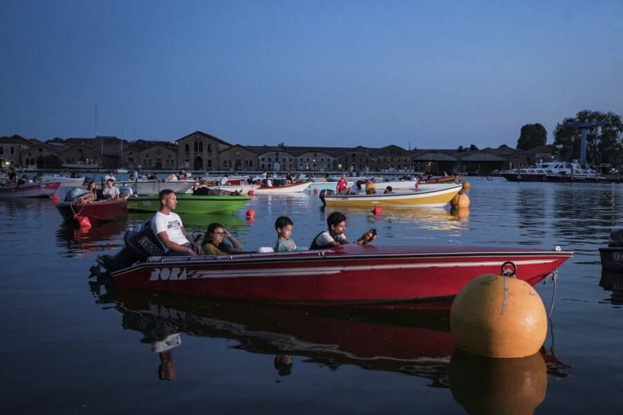 """Le cinoche en """"boat-in"""""""