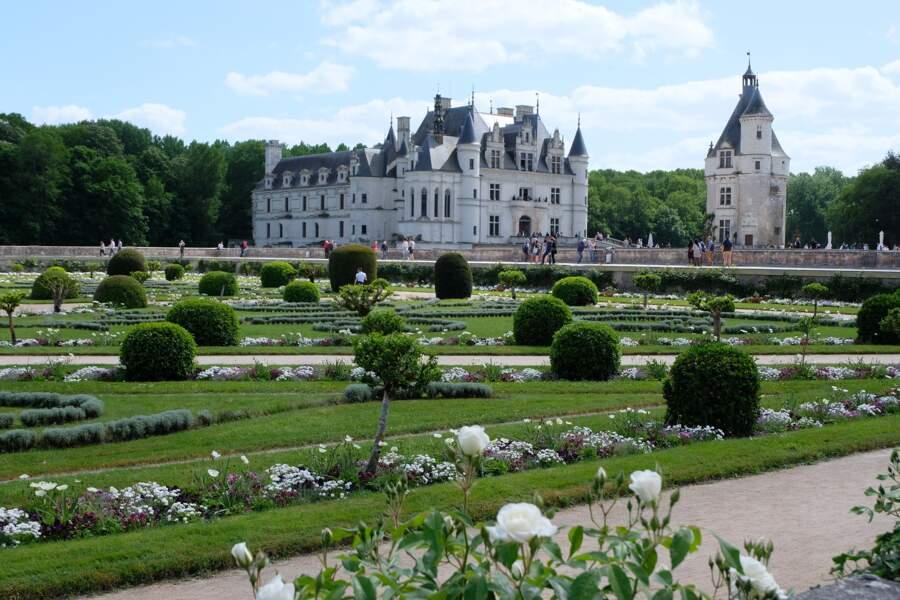 Jardin du château de Chenonceau (Chenonceaux)