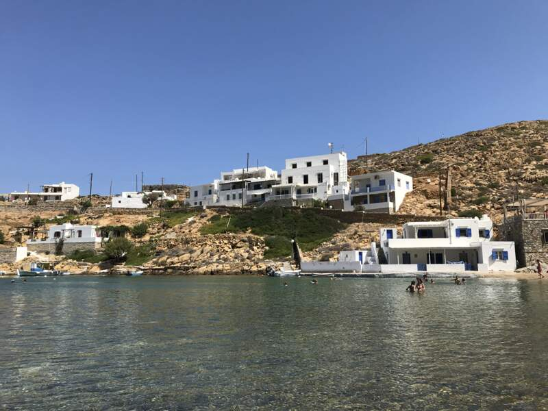 La plage de Cheronissos
