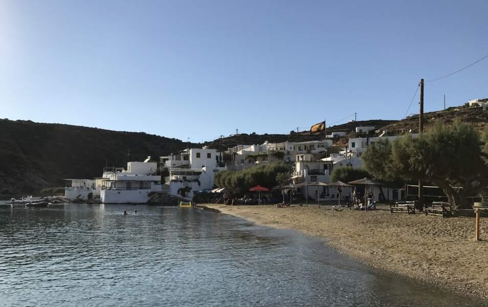 Plage principale de Faros