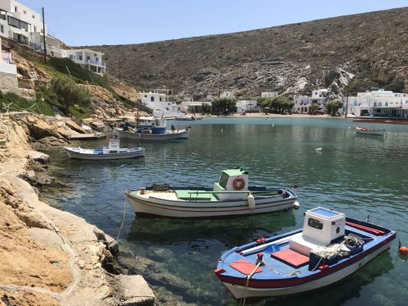 Bateaux de pêcheurs à Cheronissos