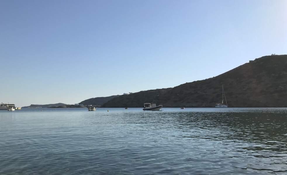 Au large de la plage principale de Faros
