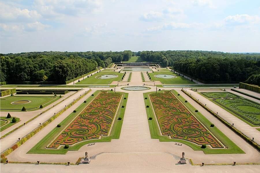 Jardin du château de Vaux le Vicomte (Maincy)