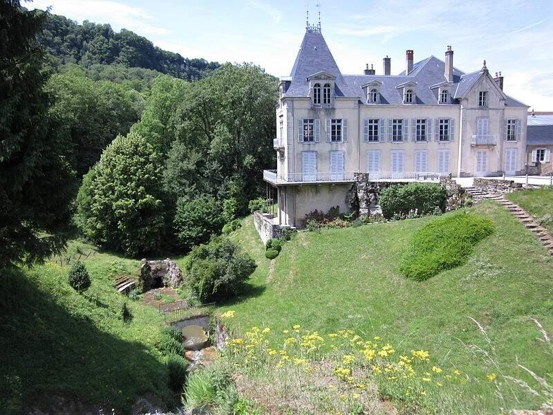 Château de Vaux sur Poligny (Jura)