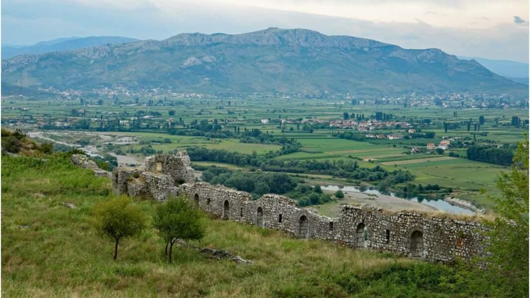 Citadelle de Rozafa, une des forteresses les mieux préservées du pays