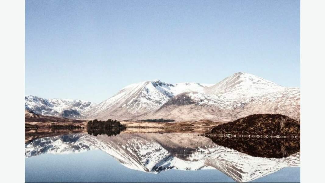 Les Highlands en Écosse, Royaume-Uni