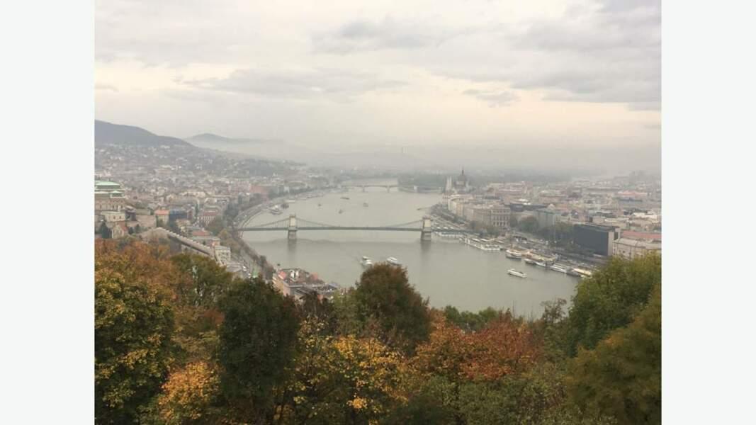 Budapest vue d'ensemble