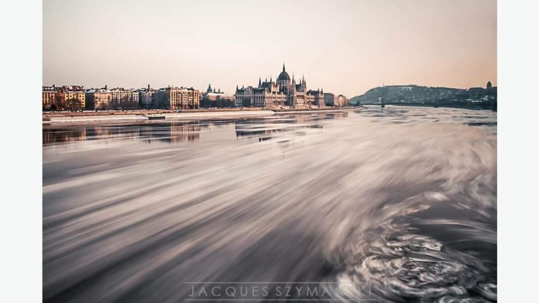 Le Danube en hiver