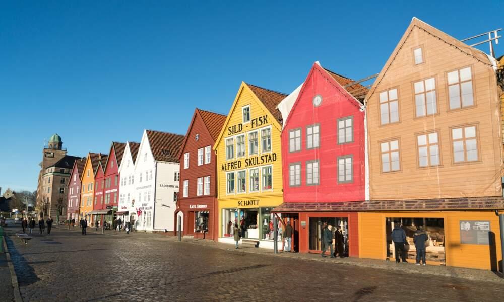 Bergen, en Norvège