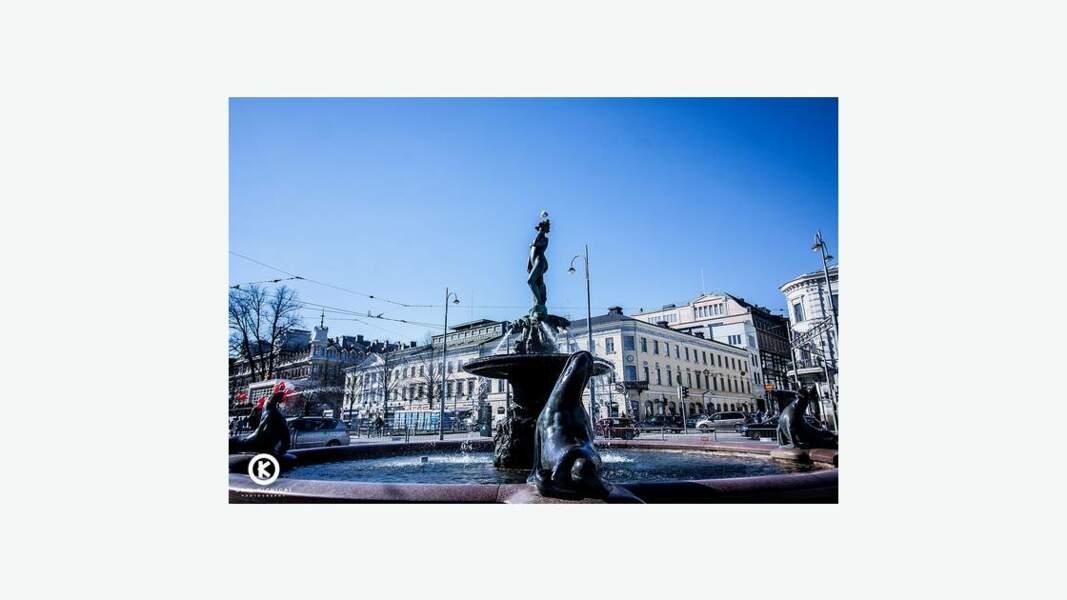 Centre ville d'Helsinki