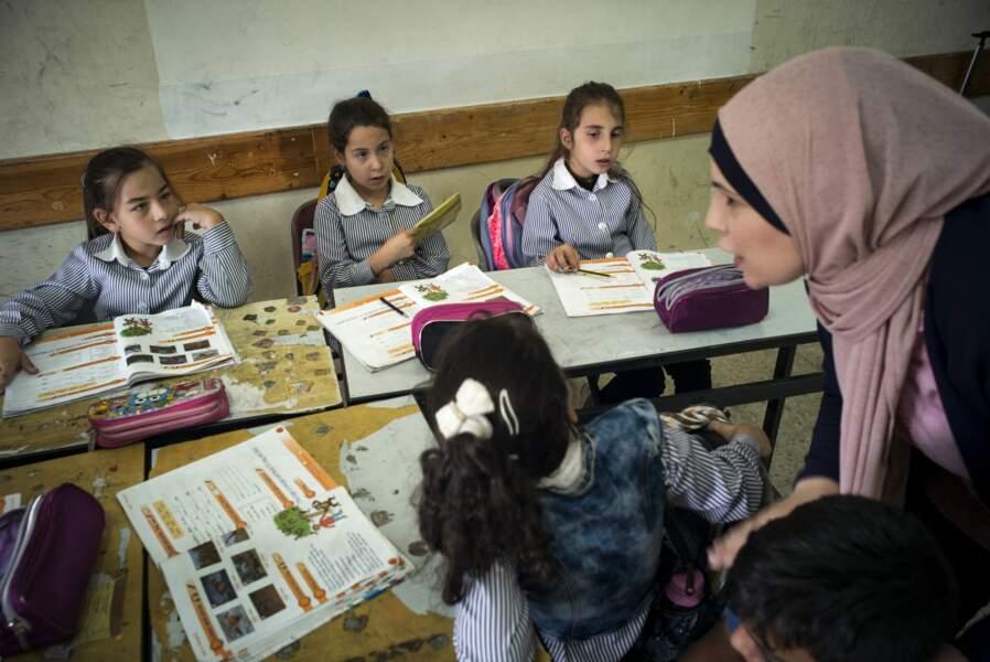 Palestiniens et Samaritains dans la même école