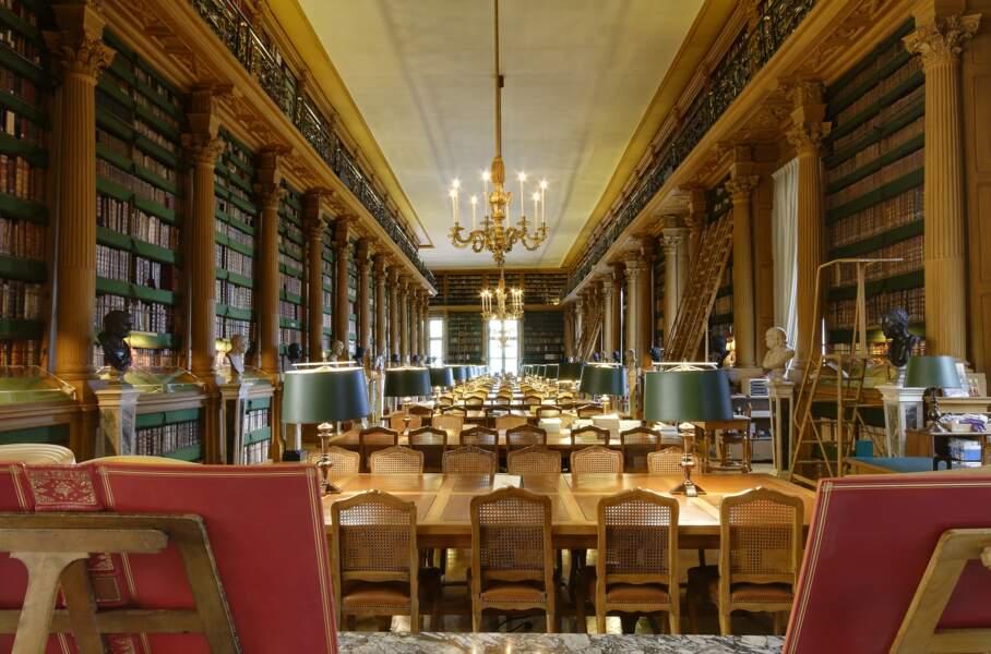 La bibliothèque Mazarine, à Paris