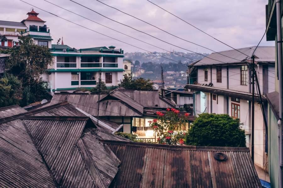 Chandmari, quartier typique de la capitale naga Kohima