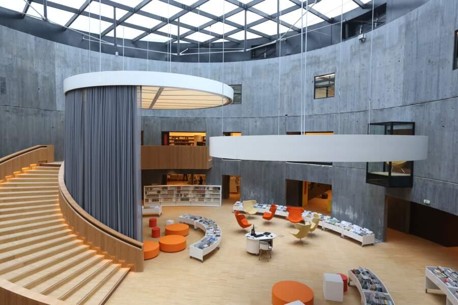 La bibliothèque Oscar Niemeyer, au Havre