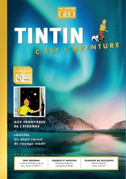 Tintin C'est l'aventure n°6
