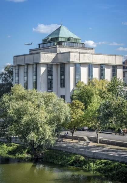 La bibliothèque Centrale, à Tours