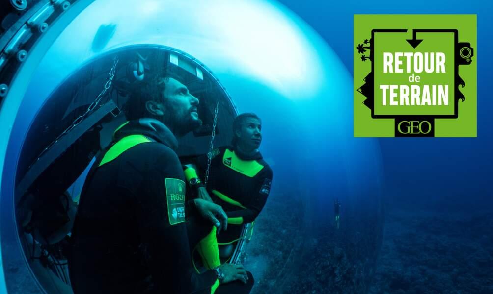 # 9 En Polynésie avec ces plongeurs qui ont campé sous la mer