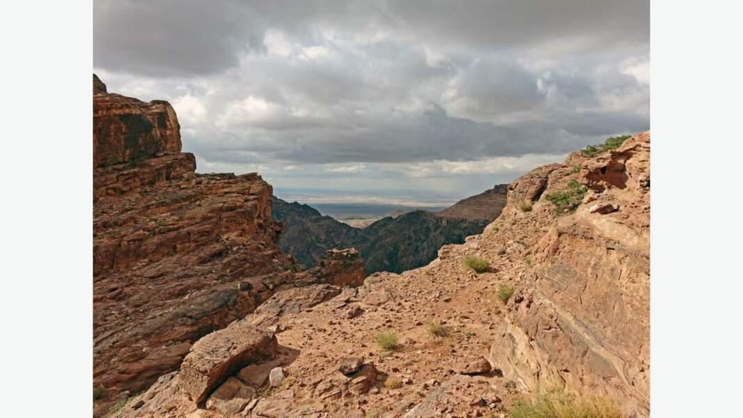 Le Wadi Siyagh à proximité de la carrière