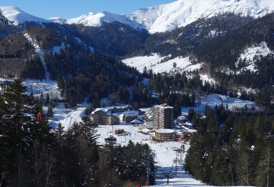 Le Lioran, dans le Cantal