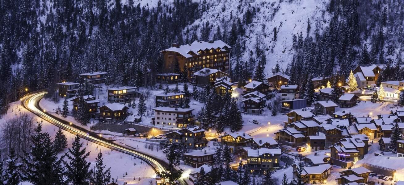Courchevel, en Savoie