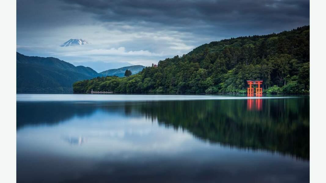 Le lac Ashi