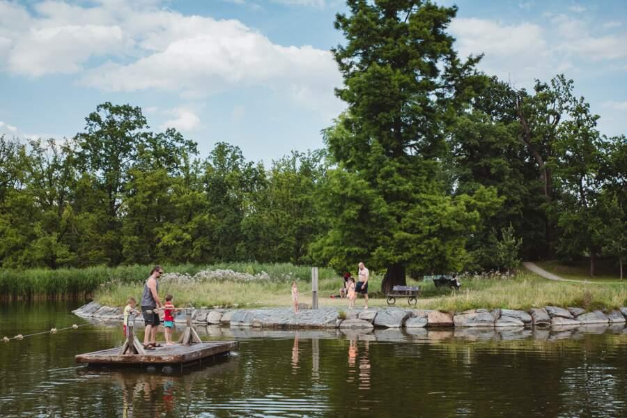 Stromovka, le panache d'un parc royal