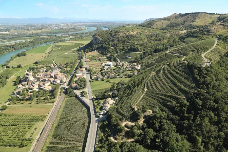 Le domaine Courbis, en Ardèche