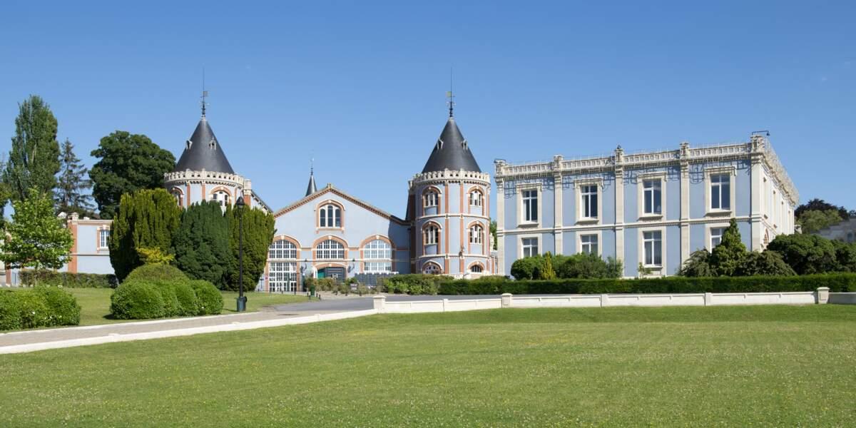Le domaine Pommery, à Reims