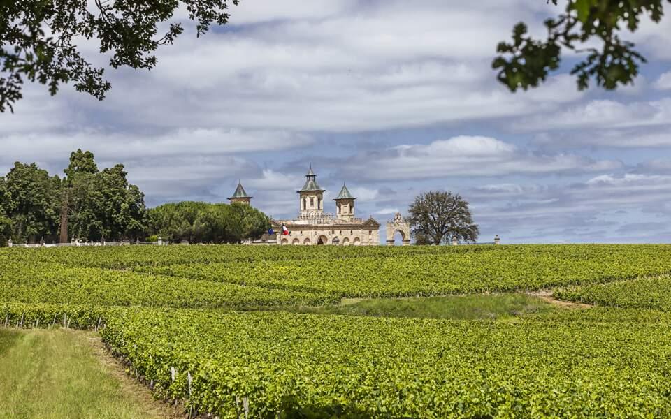 Le château Cos d'Estournel, en Gironde