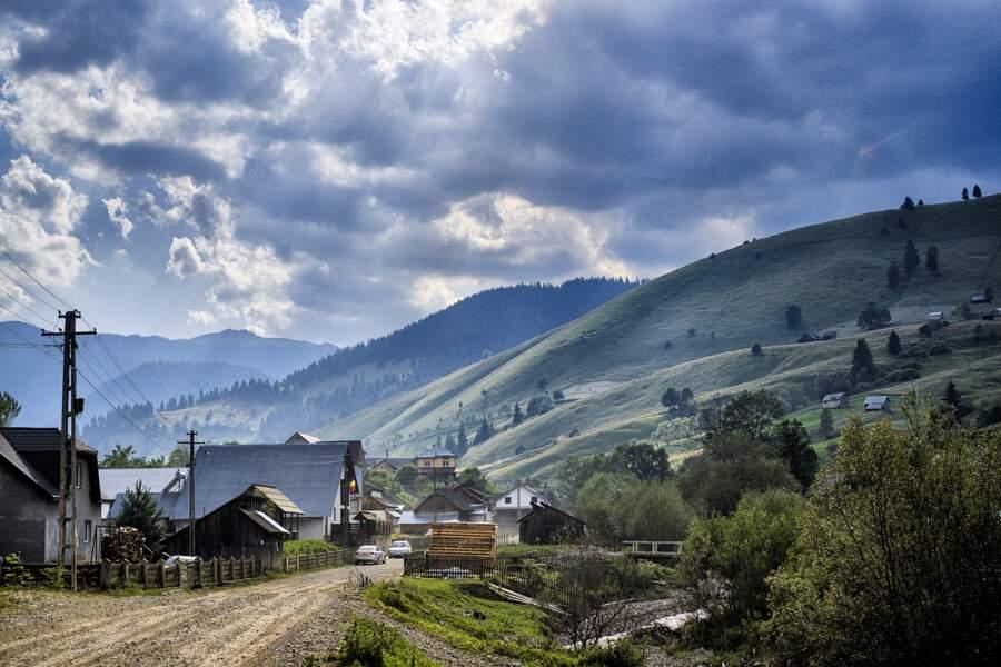 Villages dans la brume