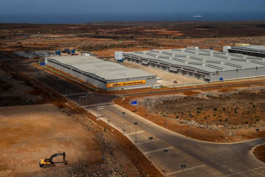 Une des trois zones franches de Djibouti