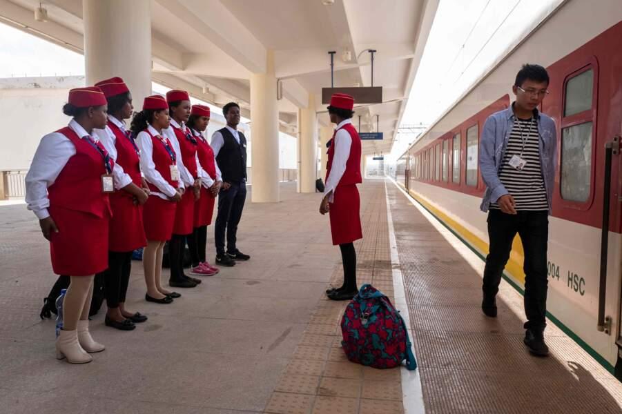 Gare de passagers de Nagad, au sud de la capitale Djibouti