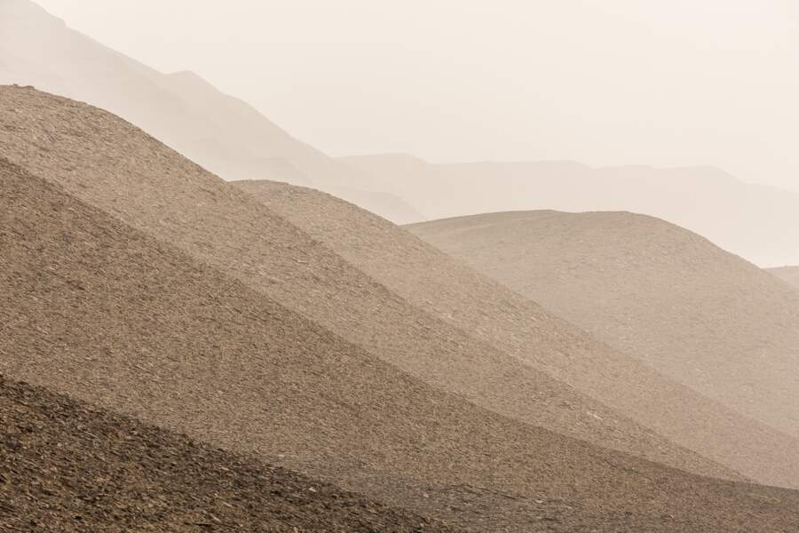 Un décor aride et minéral