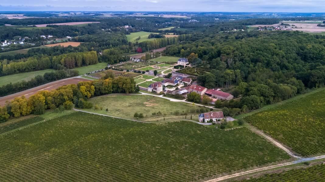 Le château de Valmer, en Indre-et-Loire