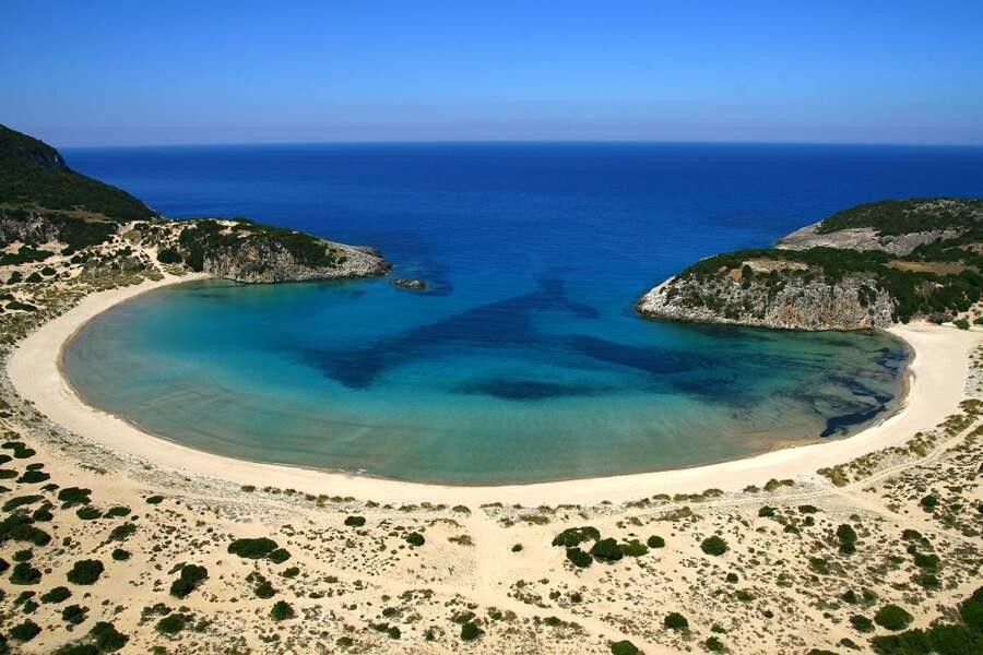 Plage de Voidokilia, Grèce continentale