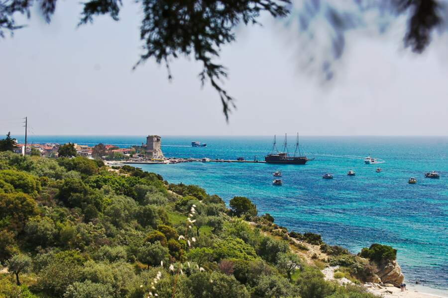 Plage d'Ouranopoli, Grèce continentale