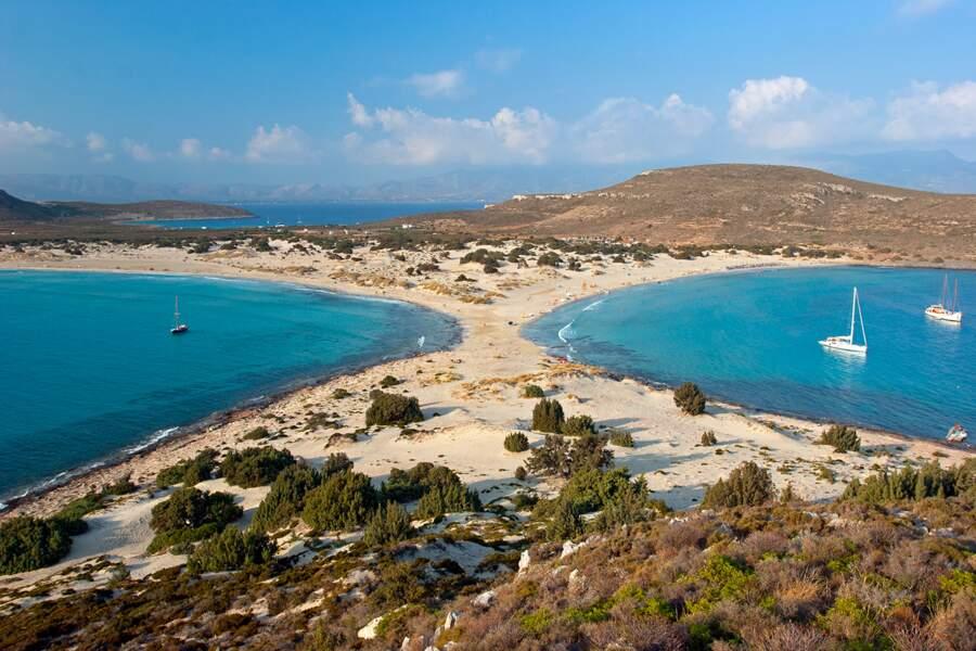 Plage de Simos, île d'Elaphonèse