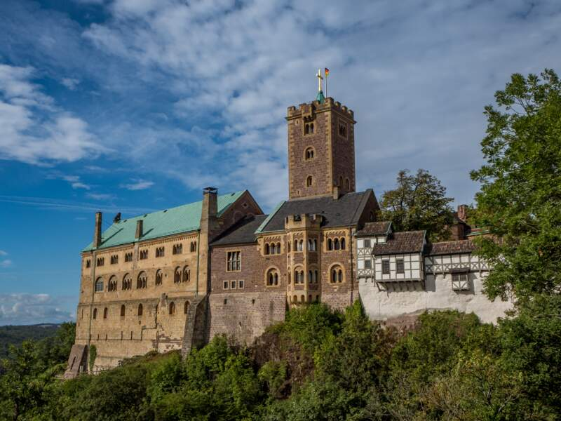 Le château de Wartburg