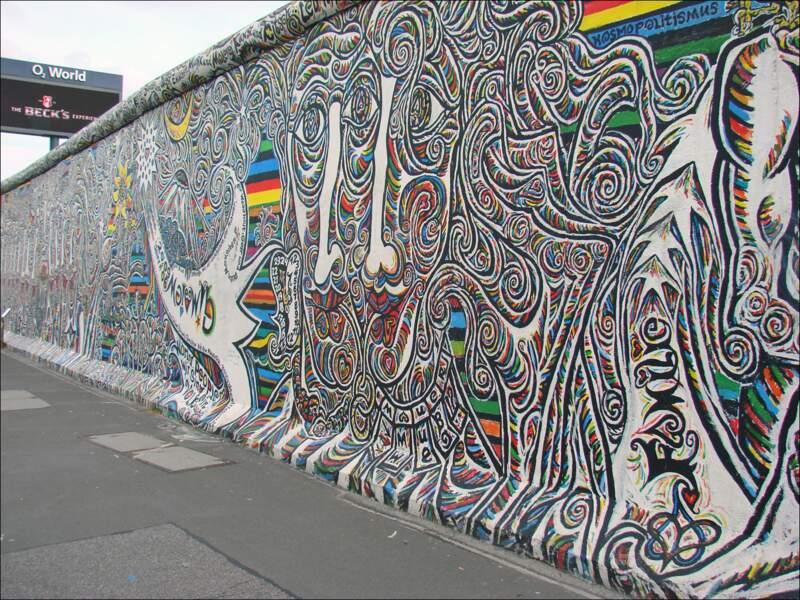 Le mur de Berlin