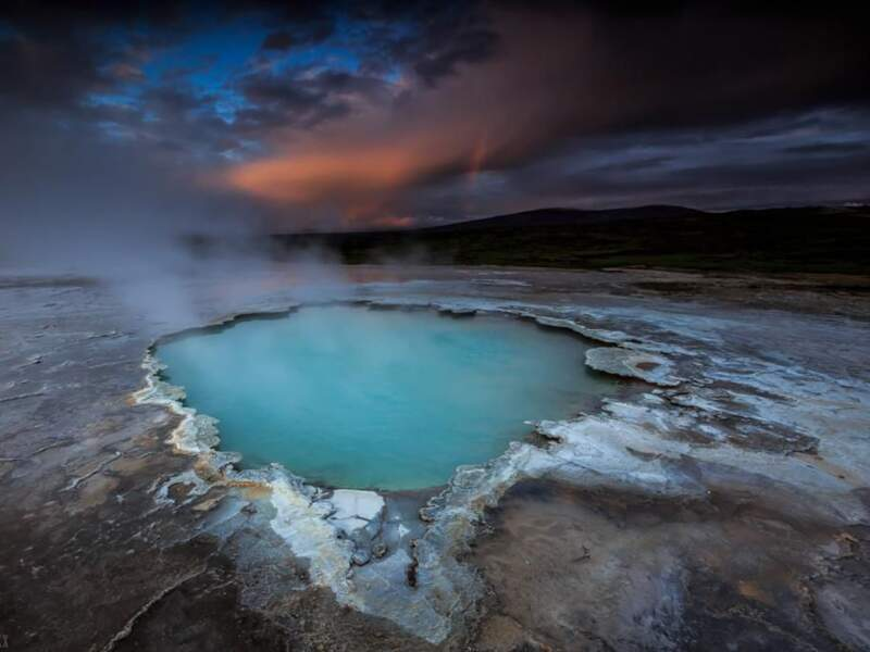 Cratère en Islande