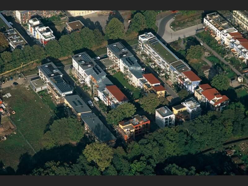 Le quartier écolo Vauban, à Fribourg-en-Brisgau, en Allemagne