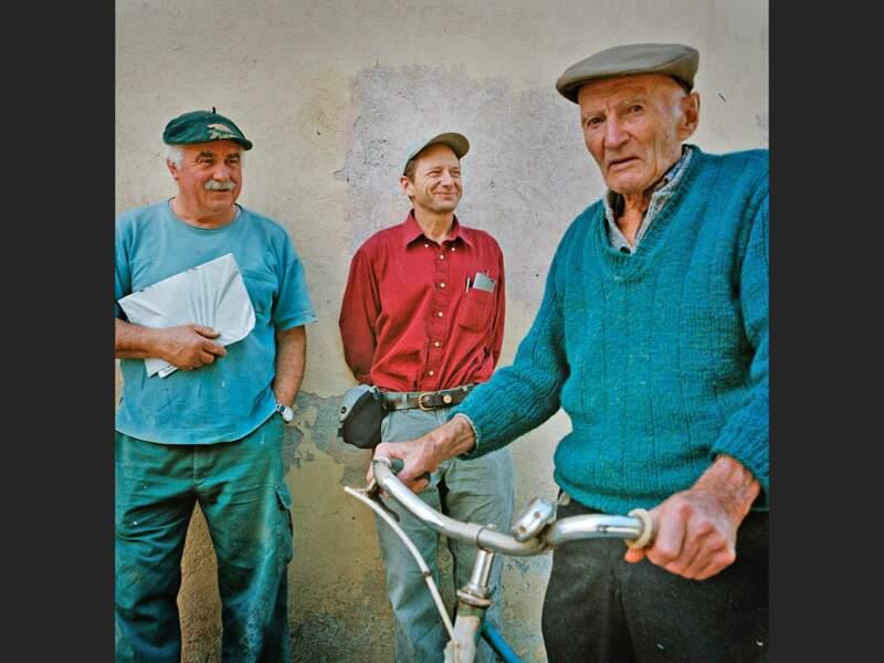 L'écrivain américain Rick Bass en Ariège, dans les Pyrénées françaises