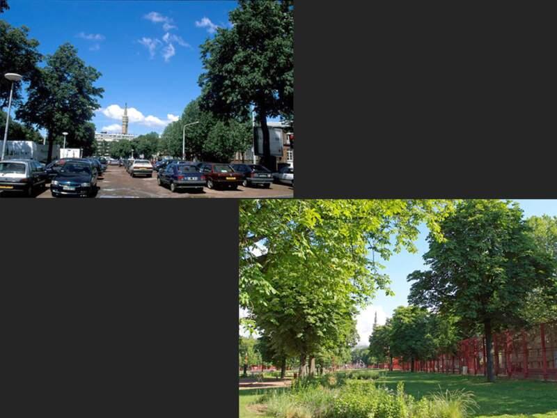 Le parc Lebas, Lille