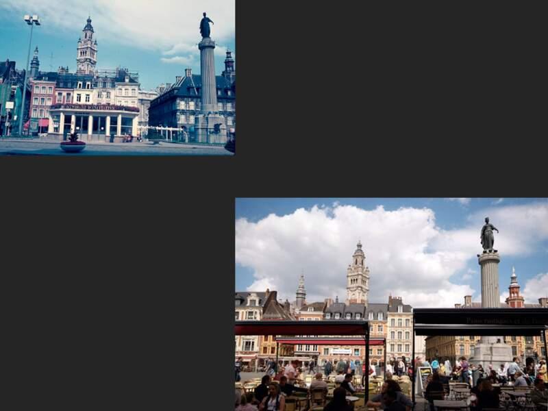 La place du Général-de-Gaulle de Lille