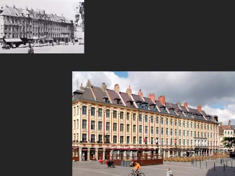 La Place du Théâtre, Lille
