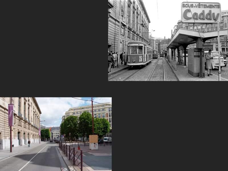 La rue de la Bourse, Lille
