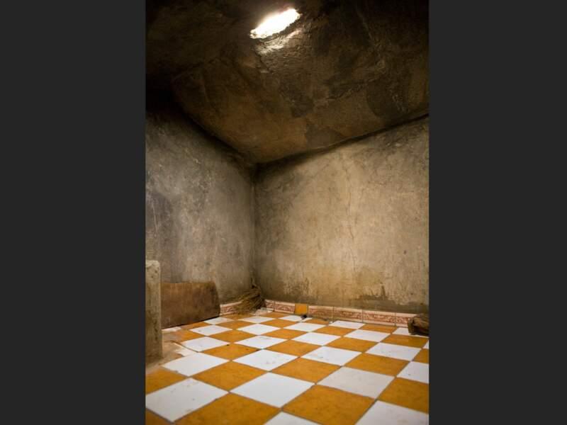 Le bois utilisé pour le hammam de Tilfitine vient d'une forêt de sapins (Haut-Atlas, Maroc).