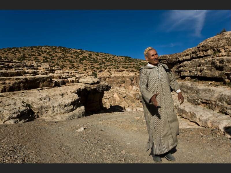 Moulay Omar, l'un des caciques du village (Haut-Atlas, Maroc).