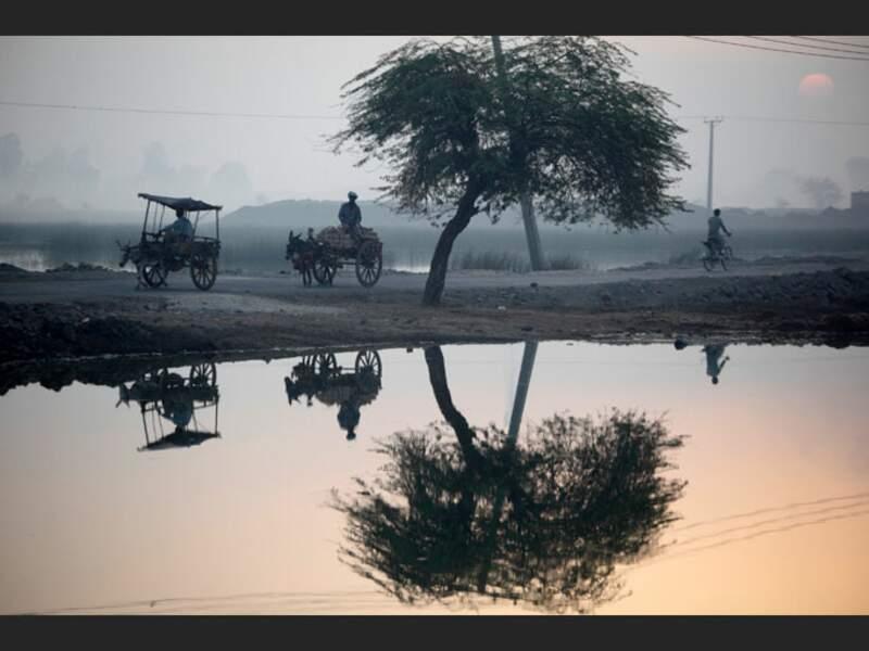 Les eaux de l'Indus, au Pakistan